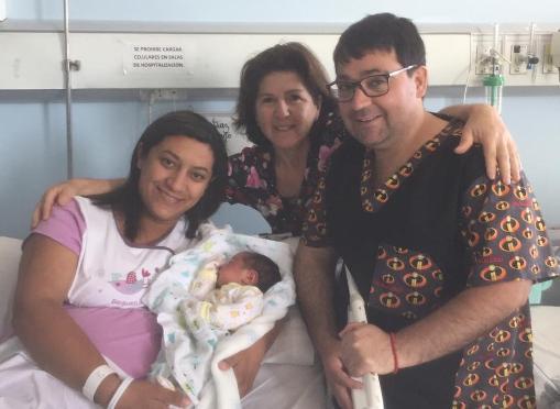 Hospital de Santa Cruz recibe el primer bebé de la región de O'Higgins