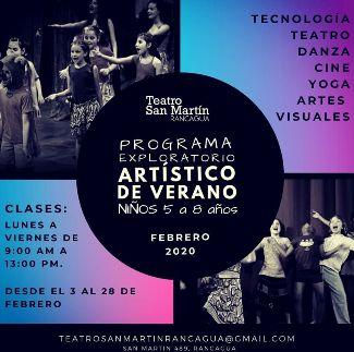 Programa Exploratorio Artístico para niños en Rancagua
