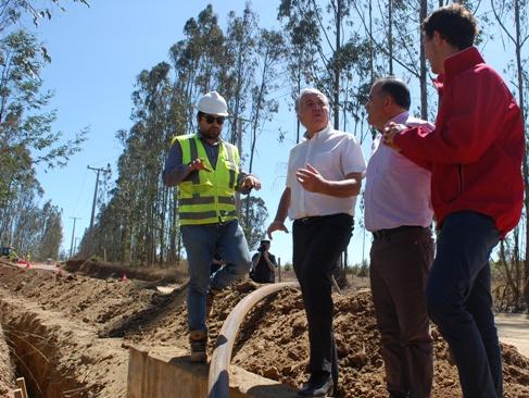 Se construye nuevo sistema APR en Pichilemu