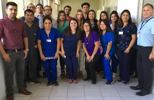 Salud Responde difunde en Chépica el uso de la línea 6003607777