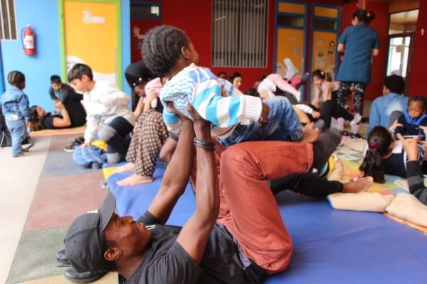Fundación Integra O'Higgins; Yoga y educación parvularia se conectan