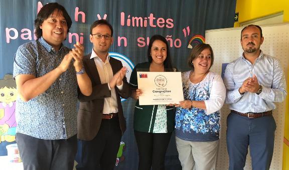SEREMI de Educación entrega certificación a la sala cuna Cangrejitos de Lolol