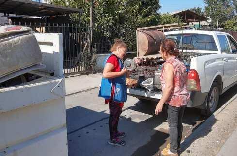 Con éxito finalizan operativos de retiros de enseres en desuso en Olivar