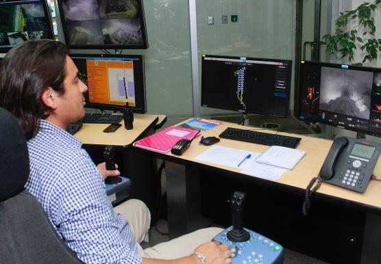 El Teniente suma más equipos mineros telecomandados desde Rancagua