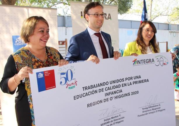 Servicios unidos inician Año de Educación Parvularia y Escolar 2020 en la Región de O´Higgins