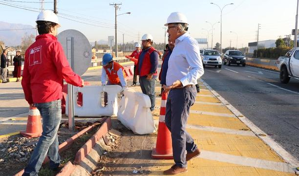 Autoridades realizan apertura de entrada norte de Rancagua