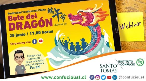 Instituto Confucio Santo Tomás celebrará fiesta del Bote del Dragón