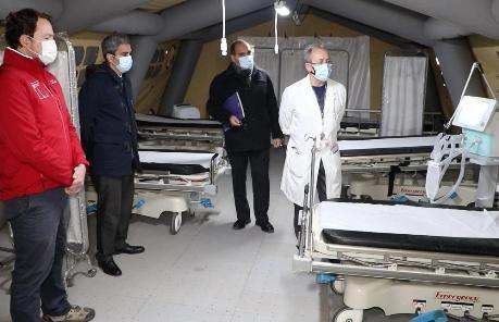 Servicio de Salud refuerza red asistencial con ventiladores mecánicos y equipamiento para camas UCI y UTI