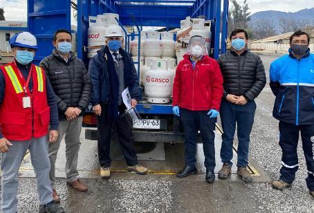 Autoridades de Energía fiscalizan  entrega de cilindros de gas en periodo de Pandemia