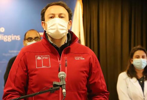 COVID-19:  autoridades informan de 200 casos nuevos de contagios y ocho fallecidos en O'Higgins