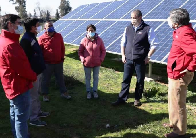 INDAP destaca aportes en riego a  pequeños agricultores de O'Higgins