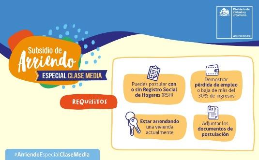 SEREMI Francisco Ravanal informa que se elimina como requisito el Registro Social para postular al Subsidio de Arriendo