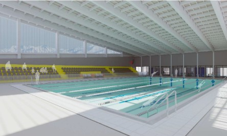 Aprueban recursos para construcción de piscina temperada de Rancagua