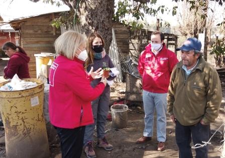 SEREMI de Desarrollo Social y Familia realiza despliegue territorial en la comuna de Chépica