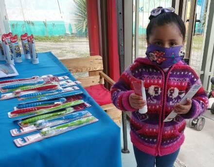 4 mil niños de la Regiónde O'Higgins reciben kit de higiene oral