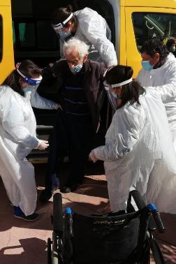 Cinco mayores ingresan a residencia espejo transitoria de SENAMA en Rengo