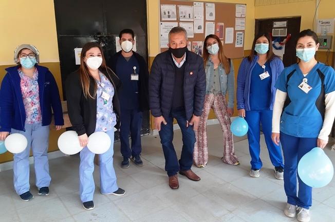 Hospital de Coinco despide a uno de sus funcionarios más emblemáticos