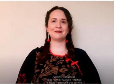 Alumna rancagüina participa en certamen internacional de institutos Confucio