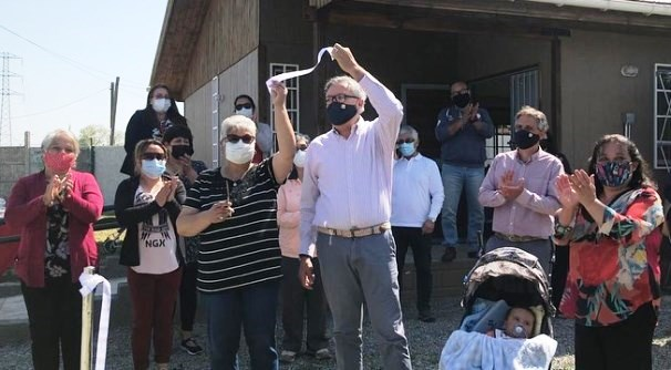 Vecinos de Villa San Fernando de Rancagua reciben sede comunitaria