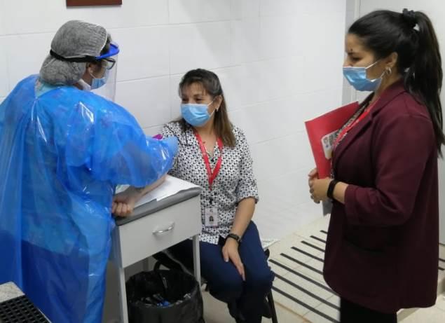 Hospital de Marchigüe culminó estudio de Seroprevalencia en todos sus funcionarios