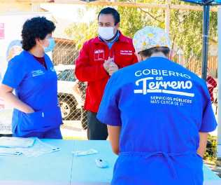 Plan veterinario en terreno