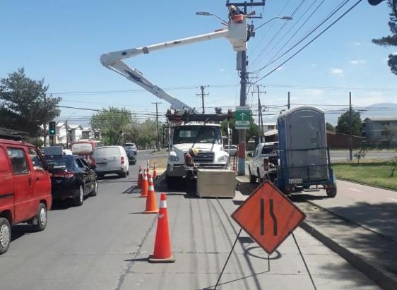 CGE instala nuevos equipos de protección para minimizar zonas afectadas por interrupciones de suministro