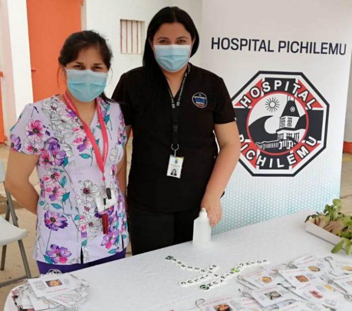 """Hospital Pichilemu entrega """"recetario saludable"""" a la comunidad"""