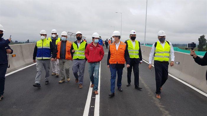 Municipalidad de Rancagua junto a Grupo EFE realiza entrega de tránsito en Paso Sobre nivel Las Coloradas