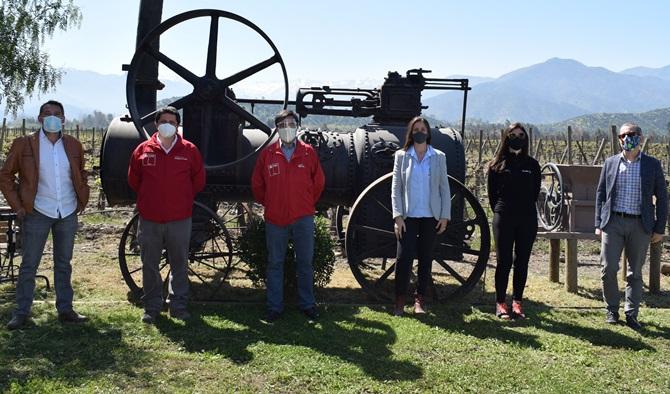 Viñas y pymes turísticas de Cachapoal se fortalecen con proyecto de innovación para la industria regional