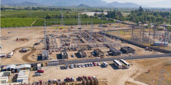 CGE avanza en obras de ampliación de subestación eléctrica