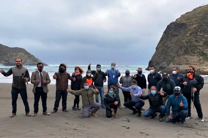 Autoridades del Medio Ambiente se reúnen con organizaciones ambientales en humedales costeros de O´Higgins