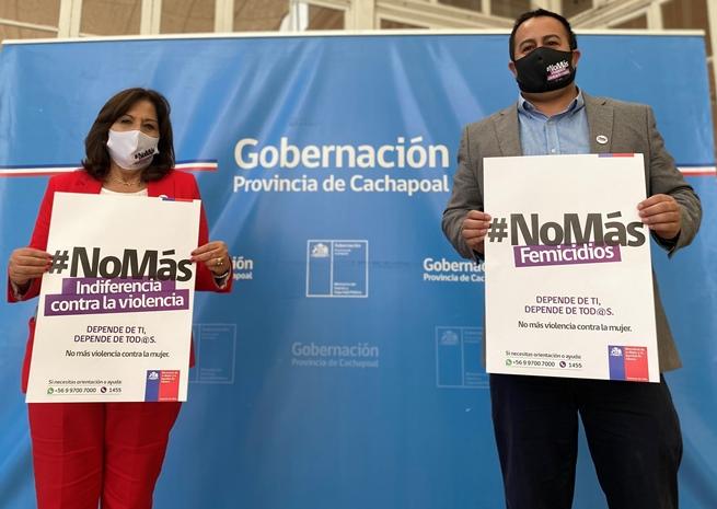 SEREMI de la Mujer y EG conmemoró el día internacional de la eliminación de la violencia contra la mujer