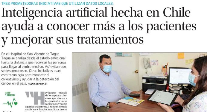 Prensa especializada destaca la incorporación de Inteligencia Artificial en Hospital de San Vicente