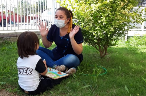 """Programa de verano de Fundación Integra """"Vacaciones en mi jardín"""" inicia actividades en la región"""