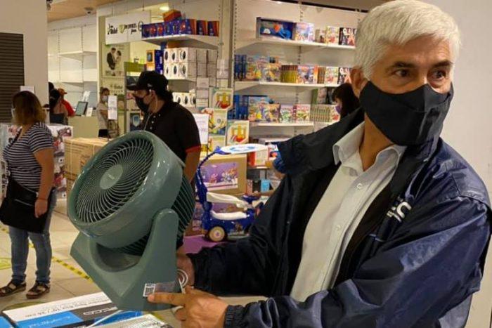 Autoridades de Energía fiscalizan venta de ventiladores, aires acondicionados y enfriadores