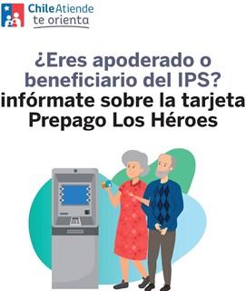 Beneficiarios titulares del IPS: hasta el 24 de febrero pueden decidir si mantienen su tarjeta prepago Los Héroes