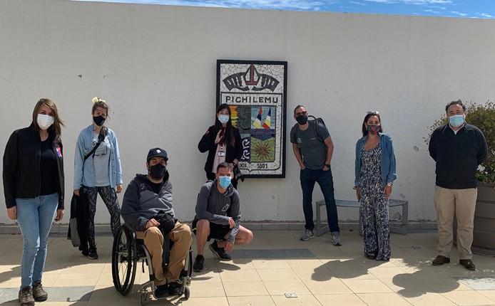 SERNATUR junto a Municipalidad de Pichilemu se reúnen con Whell the Word para seguir impulsando el turismo accesible en la comuna