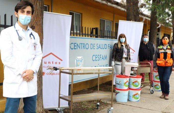 El Teniente apoya con insumos médicos de cobre a CESFAM de la región