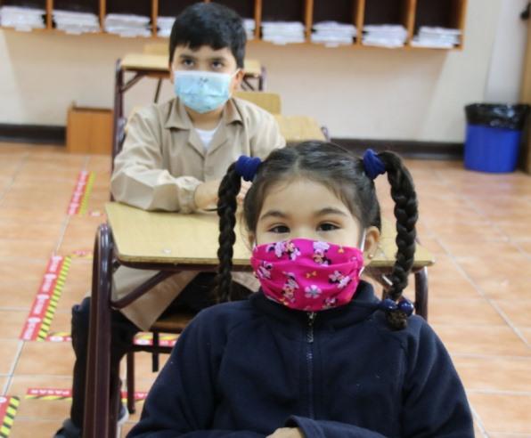 Estudiantes de establecimientos municipales de Rancagua regresaron a clases presenciales y telemáticas