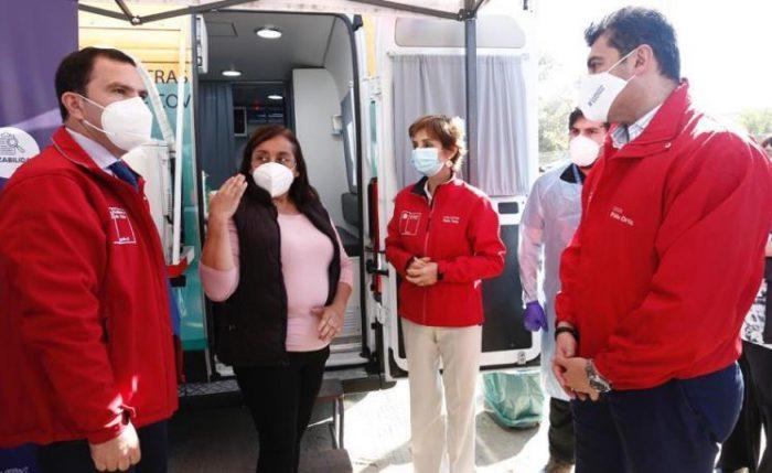"""Subsecretaria de Salud Pública visita región de O´Higgins para mostrar Operativo Sociosanitario """"COVID SOCIAL"""""""
