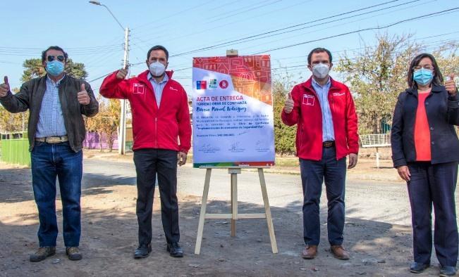 Autoridades y vecinos inician obras de mejoramiento en emblemáticos barrios de Rancagua