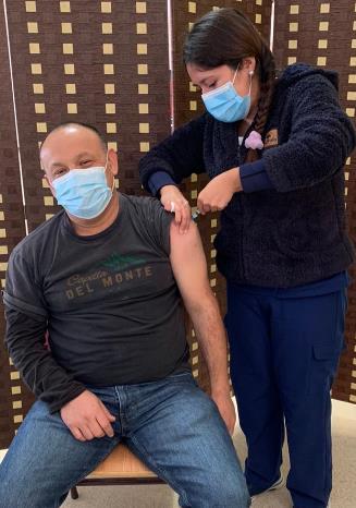 O'Higgins alcanza la mitad de personas vacunadas con segunda dosis