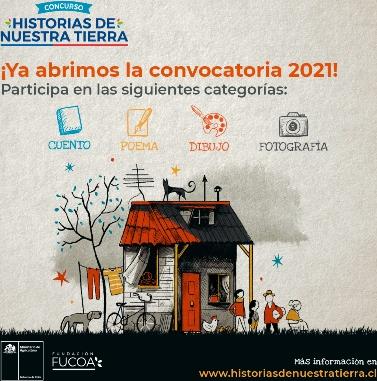 Se extendió el plazo para participar en Concurso Historias de Nuestra Tierra 2021