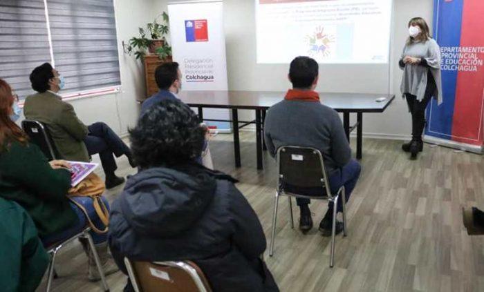 PAT SENADIS DPP Colchagua realizó capacitación a apoderados sobre el Sistema de Admisión Escolar Especial