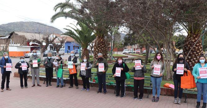 Hospital y Municipalidad de Coinco realizan taller de senderismo enfocado en adultos mayores